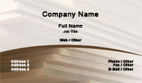 Carpenter Business Card Template